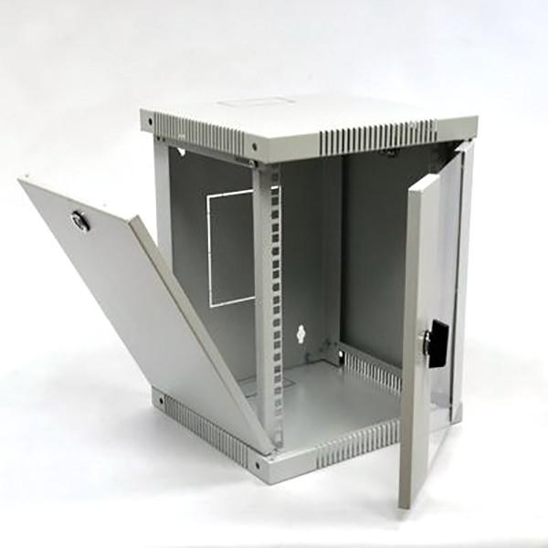 """Шкаф 10"""", 6U, 320х300х335 мм (Ш*Г*В), серый"""