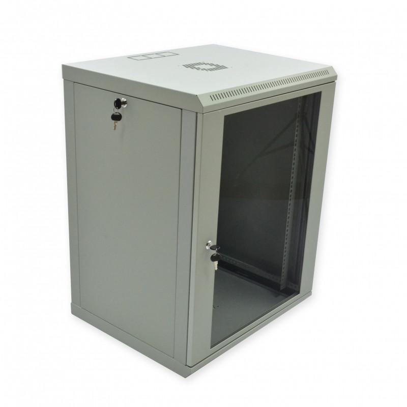Шкаф 15U, 600х500х743 мм (Ш*Г*В), эконом, акриловое стекло