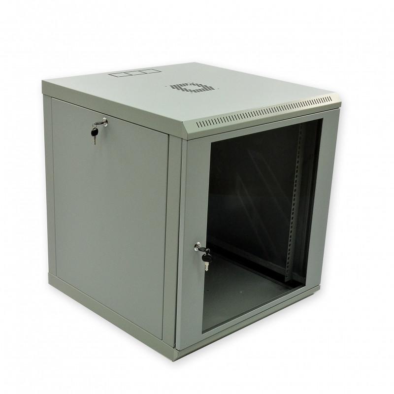 Шкаф 12U, 600х600х610 мм (Ш*Г*В), эконом, акриловое стекло