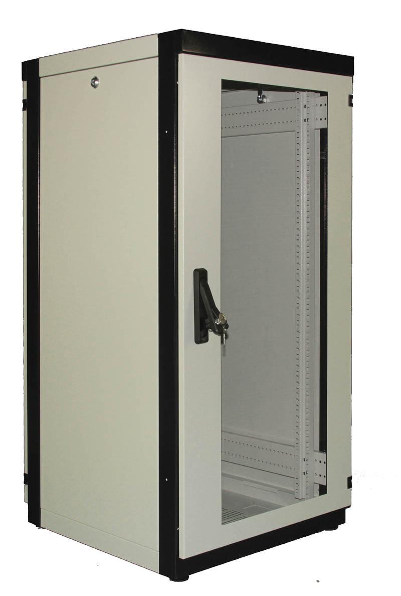 Шкаф монтажный напольный 33U 600x1000
