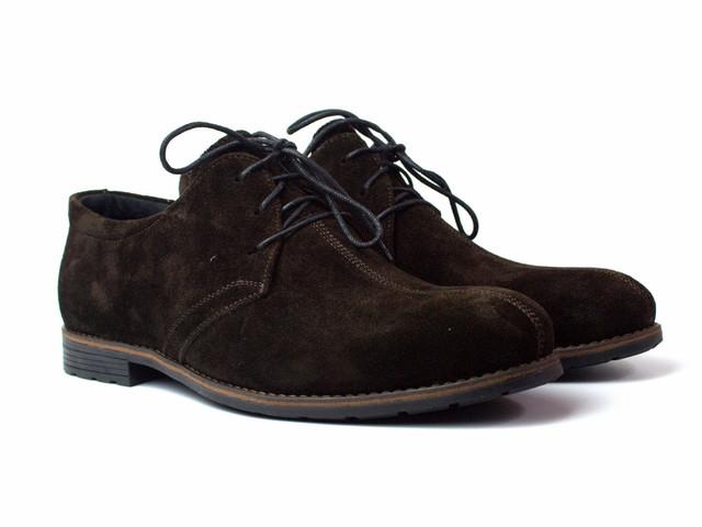 Rosso Avangard Kardinall Brown Vel Туфли замшевые коричневые