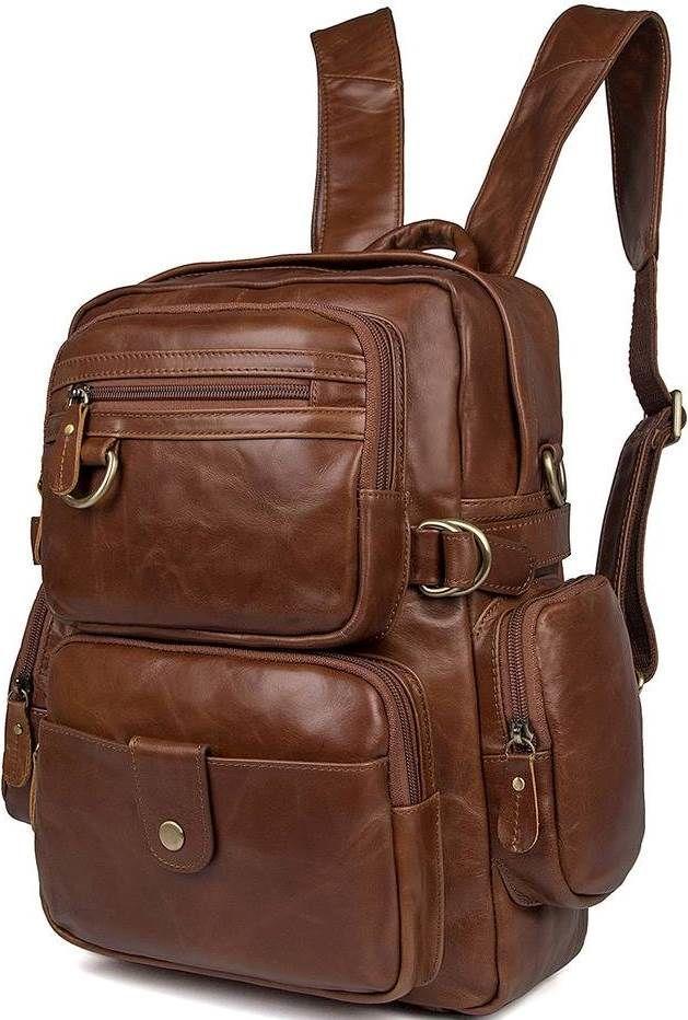 02e525fabfb0 Сумка-рюкзак Vintage Коричневый (14561) — в Категории
