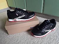Мужские кроссовки Reebok Classic Concept Sample 001 Black/Red черные с красным 41-46