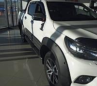 Накладки на арки Safari M1 (без болтов) для Toyota Hi-Lux 2015+