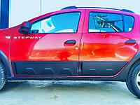 Накладки на двери Safari для Renault Sandero 2014+