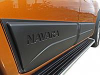 Накладки на двери Safari для Nissan Navara 2015+