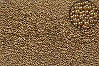 """Декоративная присыпка """"Bidens"""" для творчества, металлик, коричневая, диаметр 0.6-0.8мм, вес 250г, Присыпка для рукоделия, Присыпка для декора"""
