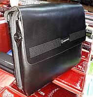 Мужская сумка-портфель Bradford 8926-6 для документов формата А4 на пять отделов искусственная кожа 36х28х9см, фото 1