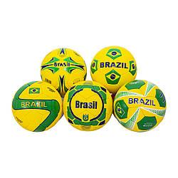 М'яч (мяч) футбольний Maraton Brazil (50шт) 5 видів