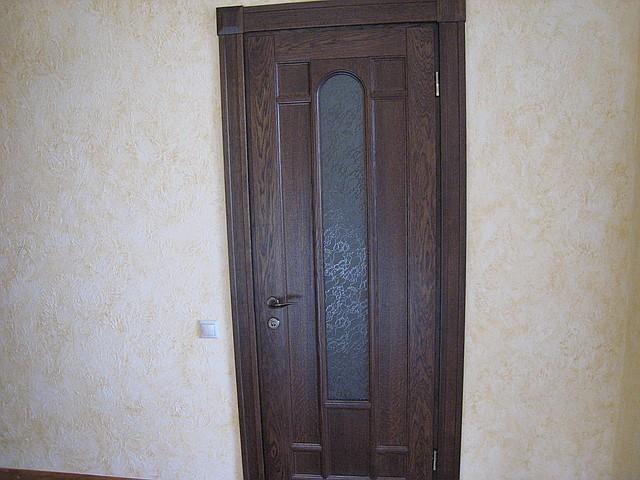 Міжкімнатні двері дубові