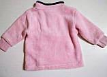 Детская кофта-джемпер плюшевая Панда 62-68 рост, фото 2