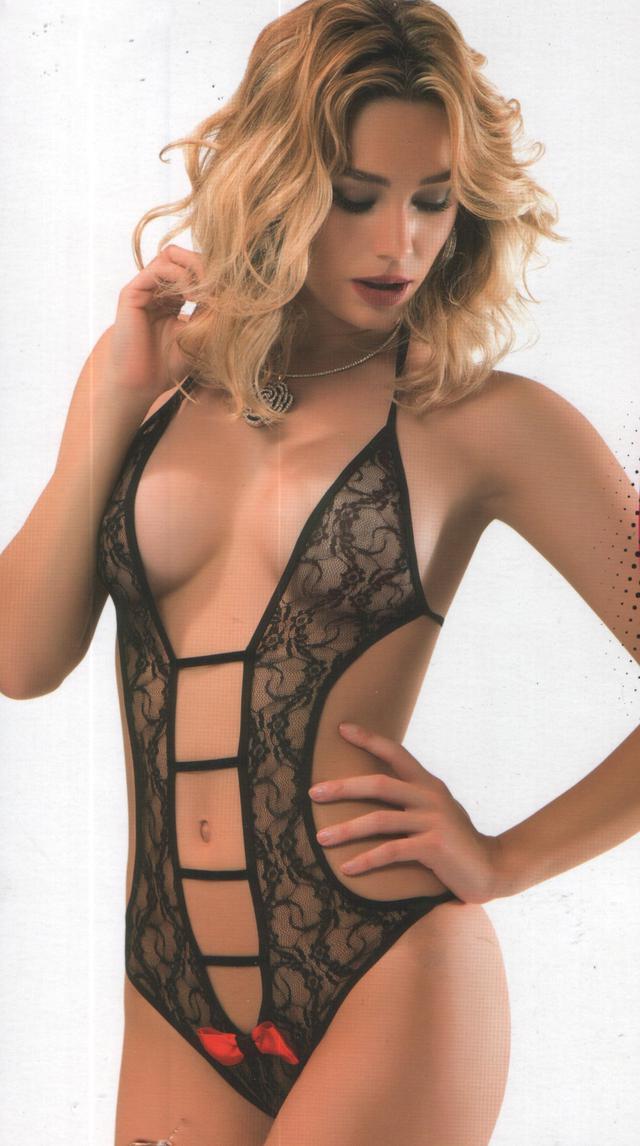 Женское эротическое белье, боди кружевное