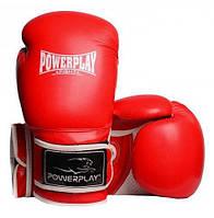 Боксерские перчатки PowerPlay 3019, красные (MD)