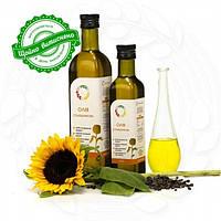 Подсолнечное сыродавленное масло (Соняшникова сиродавлена олія)