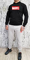 Мужской спортивный костюм, чоловічий костюм (Худи+штаны) Marvel S351, Реплика