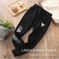 Спортивные штаны Пирамида (черн) 120