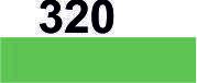 Мулине DMC (Франция) 320 Фисташково-зеленый, ср.