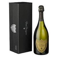 Муляж Шампанское Dom Perignon Vintage в подарочной фирменной упаковке, бутафория 0.75л