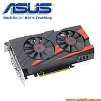 Видеокарта Asus PCI-Ex GeForce GTX 950 2GB GDDR5 128bit 1026/6610 (DVI, HDMI, VGA)