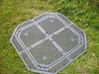 Решетка донная для садового компостера 400 600  литров