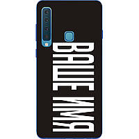 Именной чехол для Samsung Galaxy A9 2018 бампер с именем печать на чехле