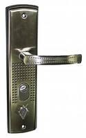 Ручки для металической двери  USK IA-68128 (с подсветкой) шлифованный никель