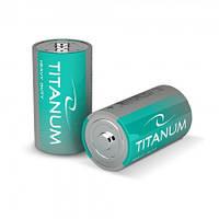 Батарейка солевая Titanum R20P/D 2pcs SHRINK (12/288)