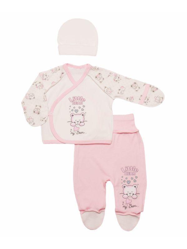 Комплект ясельный для новорожденного мальчика или девочки опт