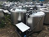 Холодильник для молока Б/У  на 200 литров открытого типа / Охолоджувач для молока, фото 9