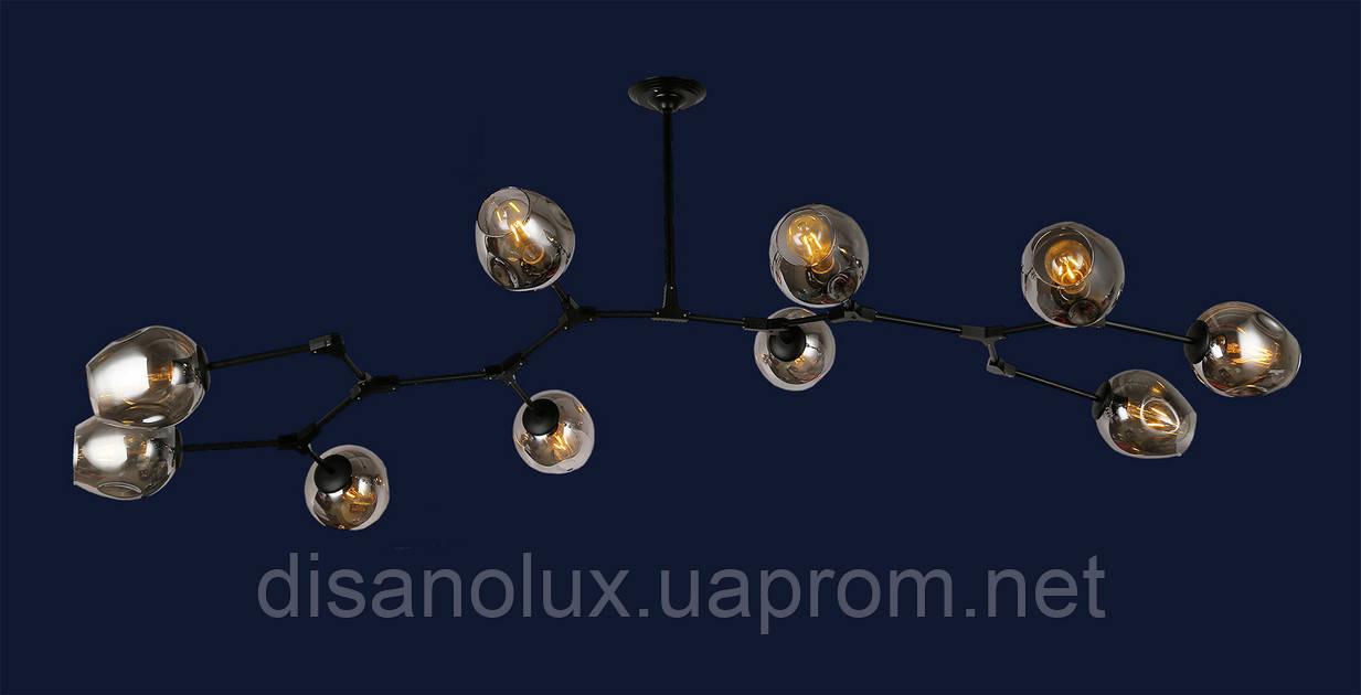 Cветильник Loft подвесной 756LPR0231-10 BK+BK  BLACK