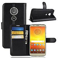 Чехол-книжка Litchie Wallet для Motorola Moto E5 / G6 Play Черный