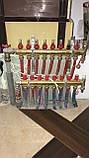 Коллектор для теплых полов Данфосс Дания 11выходов. Комплект. Розподільчі колектори FHF, С расходомерами, фото 6
