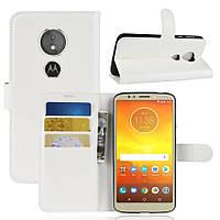 Чехол-книжка Litchie Wallet для Motorola Moto E5 / G6 Play Белый