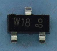 Транзистор NPN 50В 100мА NXP PDTC143ZT SOT23