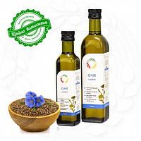 Льняное сыродавленное масло (Лляна сиродавлена олія)