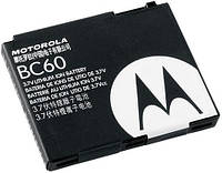 АКБ (аккумулятор) для Motorola BC60 (L7/V3x/C261/C257) - оригинал
