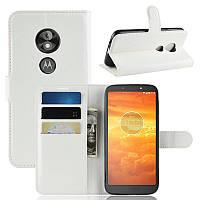 Чехол-книжка Litchie Wallet для Motorola Moto E5 Play XT1921 Белый