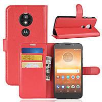 Чехол-книжка Litchie Wallet для Motorola Moto E5 Play XT1921 Красный