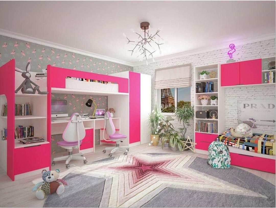 67eb96cda11a Комплект детской мебели для двоих детей