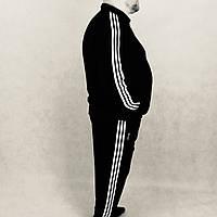Спортивный костюм ЗИМА ,ТЁПЛЫЙ ,адидас,adidas ,три полосы, классика,трикотажный ,размер 50,52,54,56, Турция.