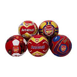 М'яч (мяч) футбольний Maraton Arsenal (50шт) 5 видів