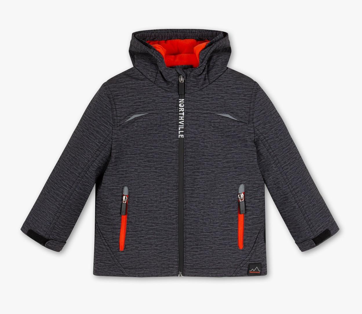 Сіра куртка софтшелл для хлопчика C&A Німеччина Розмір 122