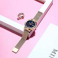 Женские часы Starry Sky Watch на магнитной застёжке Золотой