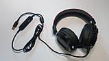 Навушники професійні ігрові з мікрофоном та підсвіткою HAVIT HV-H2006U, 7.1 USB, black, фото 6