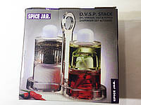 Набор для масла, уксуса, перца и соли, Spice Jar. O.V.S.P. Stack Dispenser Set