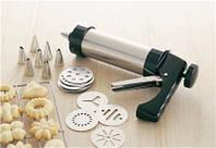 Кондитерский шприц с 13 насадками Cookie Press and Icing set