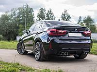Cпойлер багажника (сабля, утиный хвостик, лип спойлер) BMW X6 F16 2014+ г.в. стиль M-performance ABS пластик, фото 1