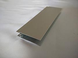 Горизонтальный профиль верх+низ серебро