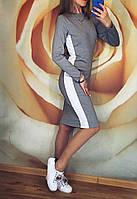 """Платье женское футляр """"Белый лампас"""" р.42-44 и 44-46, фото 1"""