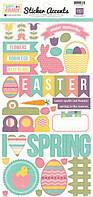 Наклейки Echo Park - Easter Stickers SW2901